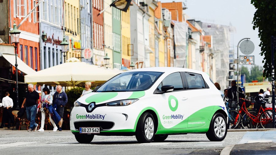 GreenMobility announces Belgium and UK launch of electric car sharing